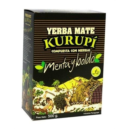 Yerba Mate Kurupi Menta y Boldo 500g