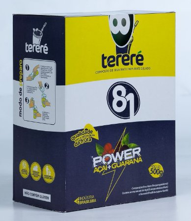 Tereré 81 Power Açaí e Guaraná 500g
