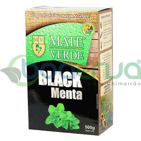 Erva Mate Verde Black Menta 500g