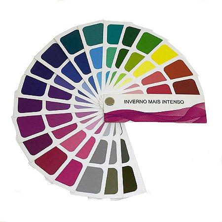 Cartela de Coloração Pessoal - Inverno Mais Intenso