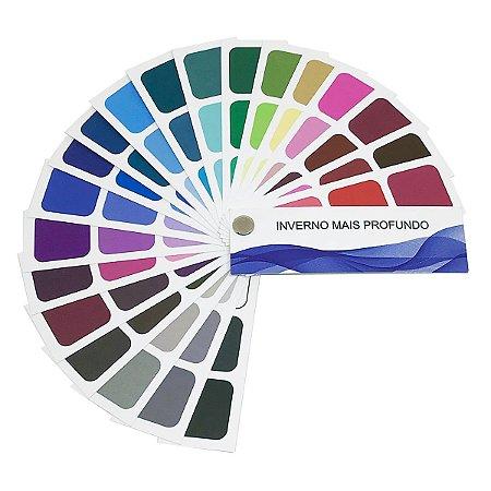 Cartela de Coloração Pessoal - Inverno Mais Profundo