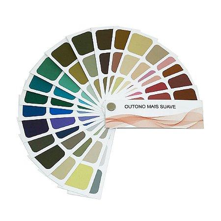 Cartela de Coloração Pessoal - Outono Mais Suave