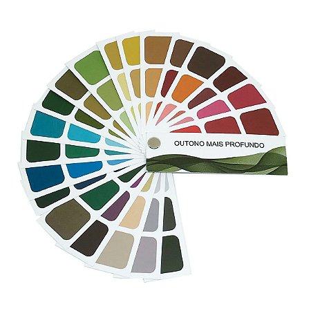 Cartela de Coloração Pessoal - Outono Mais Profundo