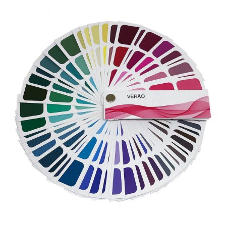 Cartela de Coloração Pessoal - Verão