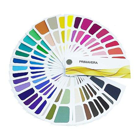 Cartela de Coloração Pessoal - Primavera