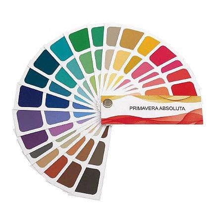 Cartela de Coloração Pessoal - Primavera Absoluta