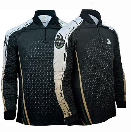 Camisa De Pesca Proteção Uv 50+ Kaa5C  Kaapuã