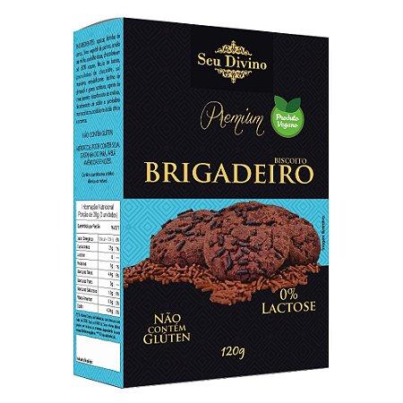 Biscoito Brigadeiro - Sem Glúten e Vegano - 120g