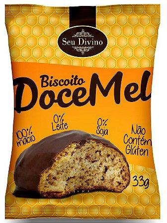 DOCE MEL  SEU DIVINO - PÃO DE MEL MACIO -  ZERO GLÚTEN, LEITE E SOJA - 33G