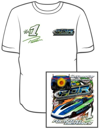 Camiseta Jet Car Pudim Drag Racing