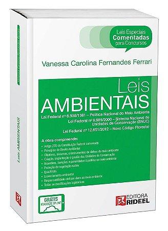 Leis Especiais Comentadas - Leis Ambientais - 1ª edição