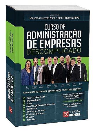 Curso de Administração de Empresa Descomplicado - 1ª edição