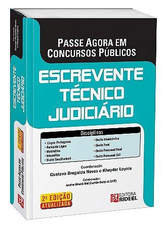 Passe Agora em Concursos Públicos - Escrevente Técnico Judiciário - 2ª edição
