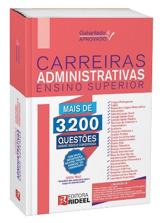 Gabaritado e Aprovado - carreiras Administrativas - Ensino Superior - 1ª edição