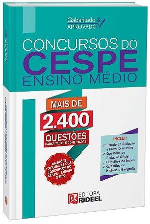 Gabaritado e Aprovado - Concursos do CESPE (Ensino Médio) - 1ª edição