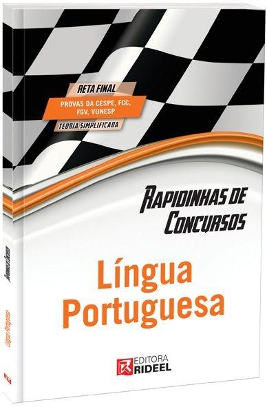 Rapidinhas de Concursos - Língua Portuguesa - 1ª edição
