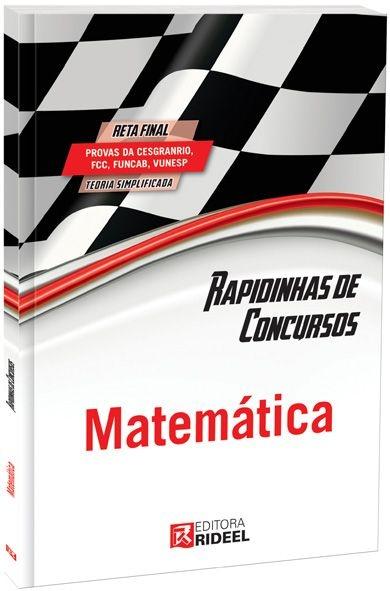 Rapidinhas de Concursos - Matemática - 1ª edição