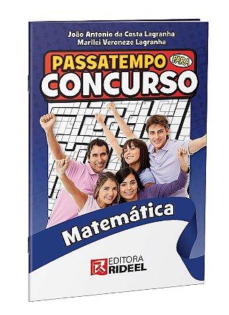 Passatempo para Concurso - Matematica - 1ª ediçao