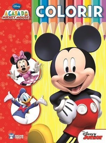 Colorir Grande - A CASA DO MICKEY MOUSE