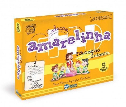 Amarelinha Educação Infantil - 05 Anos