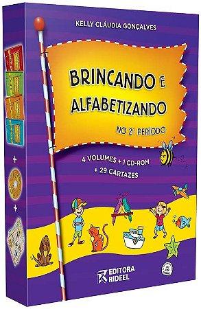 Coleção Brincando e Alfabetizando no 2º período