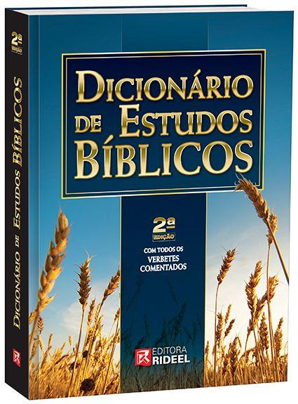 Dicionário de Estudos Bíblicos - 2ª edição