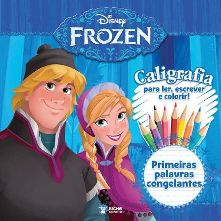 Caligrafia Frozen- PRIMEIRAS PALAVRAS CONGELANTES