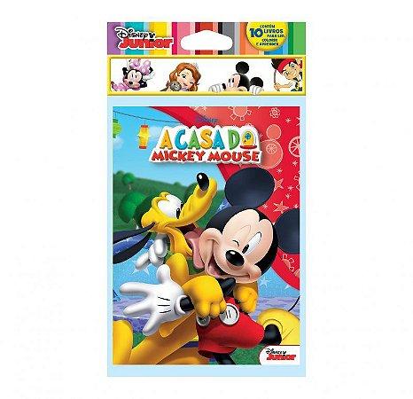Disney Solapa Média Colorir - DISNEY JUNIOR