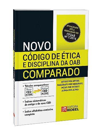 Novo Código de Ética da OAB Comparado - 1ª edição