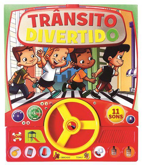 Livro Sonoro com Volante - TRANSITO DIVERTIDO