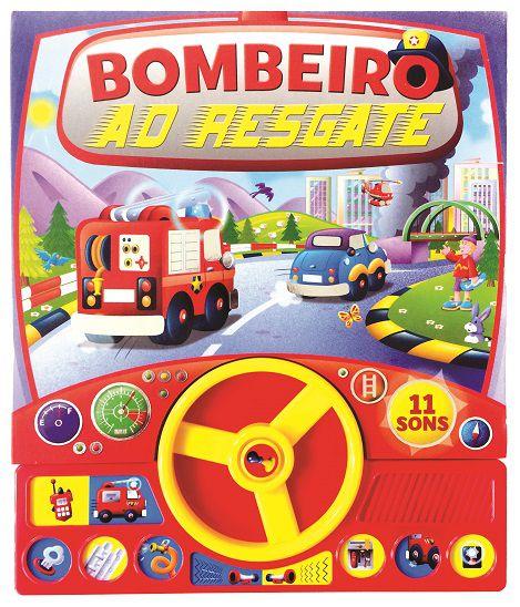 Livro Sonoro com Volante - BOMBEIRO AO RESGATE