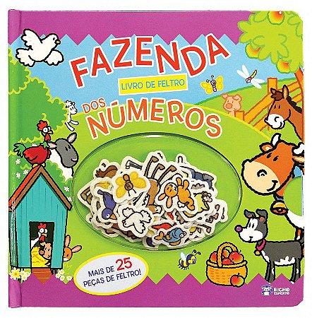 Livro de Feltro - FAZENDA DOS NUMEROS