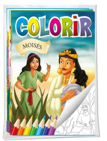 Solapa Colorir Biblia
