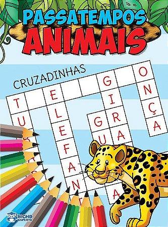 Passatempos Animais - CRUZADINHAS