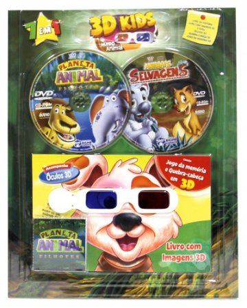 KIT 3D Animais