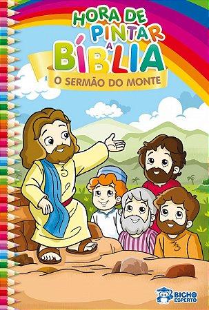 Hora de Pintar Biblia! O SERMAO DO MONTE