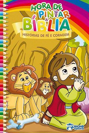 Hora de Pintar Biblia! HISTORIAS DE FE E CORAGEM