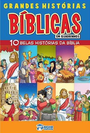 Grandes Historias Biblicas em Quadrinhos - VOLUME ÚNICO