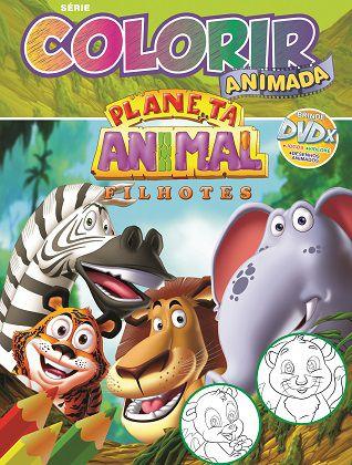 Colorir Animada - PLANETA ANIMAL