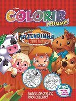 Colorir Animada - FAZENDINHA DO SEU LOBATO