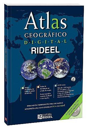 Atlas Geográfico Digital Rideel 1ED.