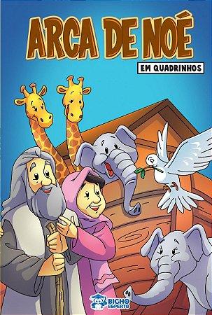 Em quadrinhos Biblia - A ARCA DE NOE COM 10 VOLUMES IGUAIS