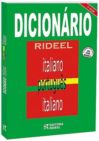 Dicionario Rideel ITALIANO, PORT, ITALIANO