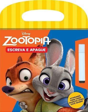 Disney Escreva e Apague - ZOOTOPIA