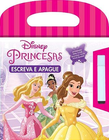 Disney Escreva e Apague - PRINCESAS