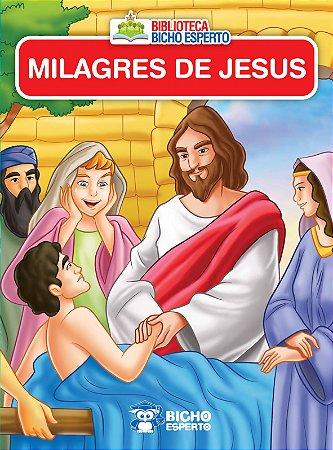 Mini Biblioteca Biblico - OS MILAGRES DE JESUS
