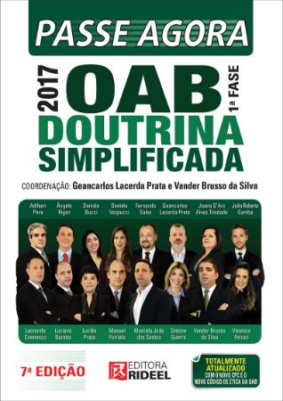Passe Agora OAB 1FASE - Doutrina Simplificada 7ED.