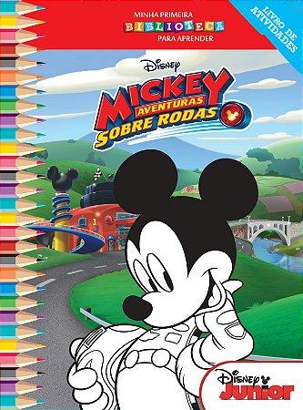 Disney Mini Biblioteca Colorir  - MICKEY AVENTURA