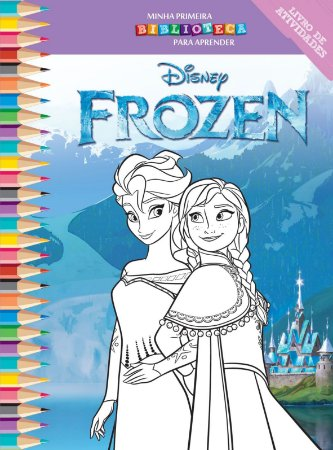Disney Mini Biblioteca Colorir  - FROZEN