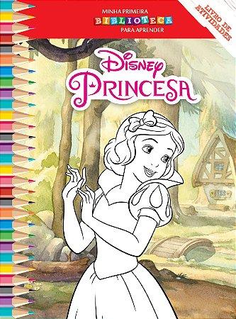 Disney Mini Biblioteca Colorir  - BRANCA DE NEVE